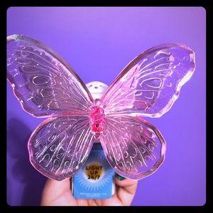 Butterfly wallflower plug in